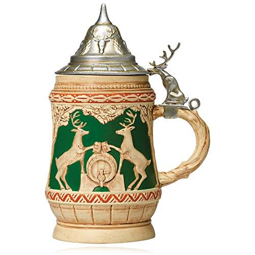 Hallmark Keepsake Ornament: Bavarian-inspired Beer Stein With Reindeer Crest