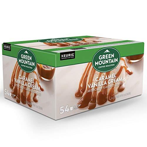 Green Mountain Coffee Caramel Vanilla Cream 54 K-Cups Net wt 179 oz Caramel Vanilla Cream 179 Ounce
