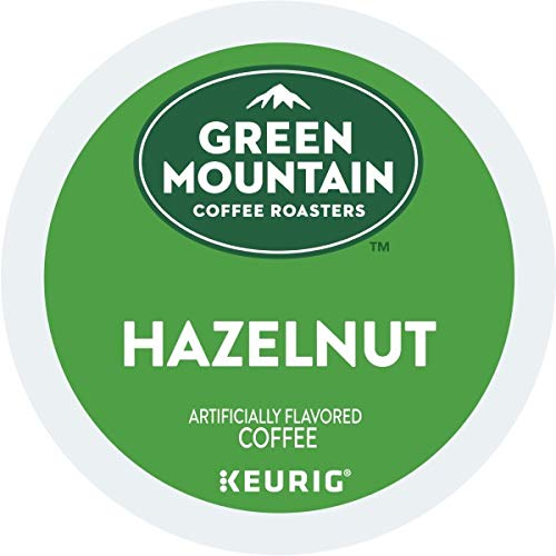 Green Mountain Coffee Hazelnut Single-Serve Keurig K-Cup Pods Light Roast Coffee 48 Count 2 Boxes of 24 Pods