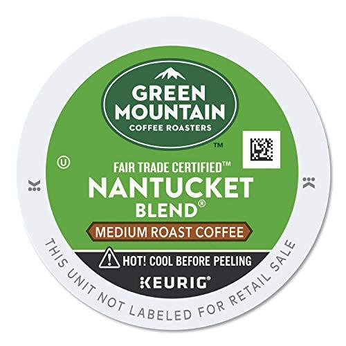 Green Mountain Coffee Nantucket Blend Fair Trade Keurig Single-Serve K-Cup Pods Medium Roast Coffee 24 Count