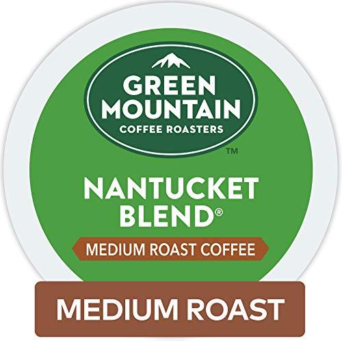 Green Mountain Coffee Roasters Nantucket Blend Keurig Single-Serve K-Cup Pods Medium Roast Coffee 72 Count Pack of 1