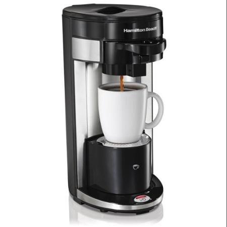 Hamilton Beach FlexBrew Single Serve Coffeemaker Gound K-Cup Compatible Black
