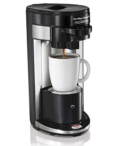 Hamilton Beach FlexBrew Single Serve Ground K-Cup Coffee Maker  49999A