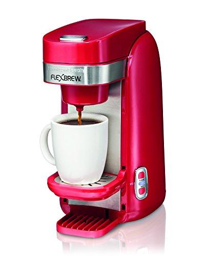 Hamilton Beach Single-Serve Coffee Maker FlexBrew - Red 49960