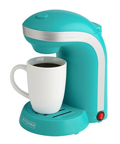 Kitchen Selectives Colors Single Serve Coffee Maker - Teal