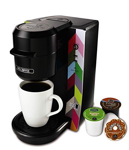 Mr Coffee BVMC-KG2FB Single Serve Coffee Maker French Bull Design Multicolored