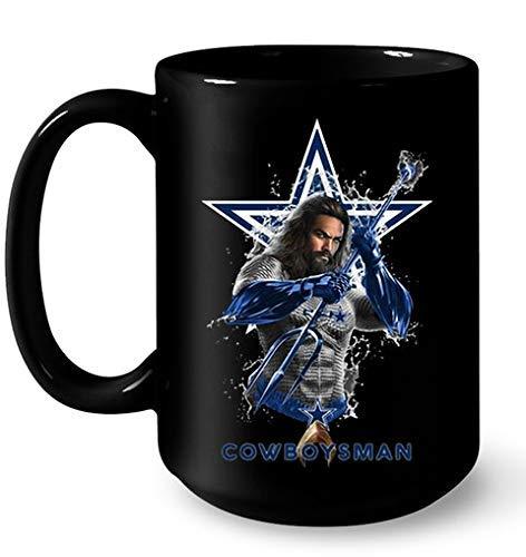 Aquaman Jason Momoa Cowboysman Dallas Cowboys Coffee Mug 11oz - Mug