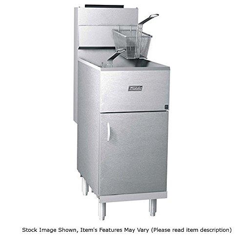 Pitco Frialator 40S Economy 40-45 lb 105000 BTU Natural Gas Fryer