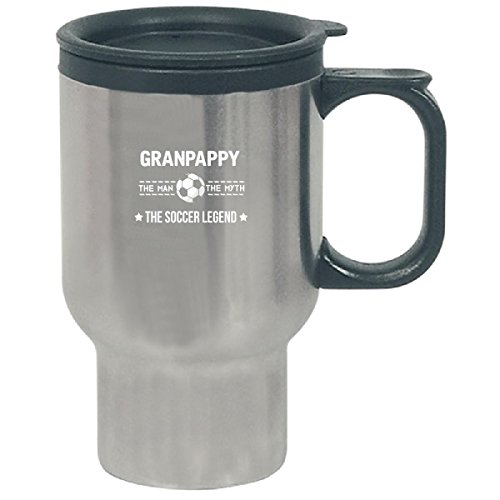 Granpappy The Man Myth The Soccer Legend Fathers Day - Travel Mug