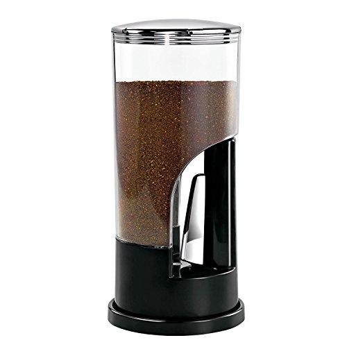 Zevro KCH-06079 Indispensable 12-Pound-Capacity Coffee Dispenser Black