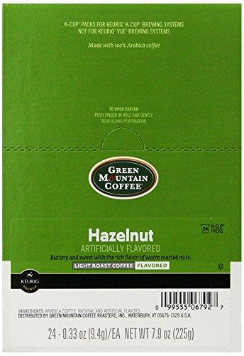 Green Mountain Coffee Roasters 6792CT Hazelnut Coffee K-Cups 96carton