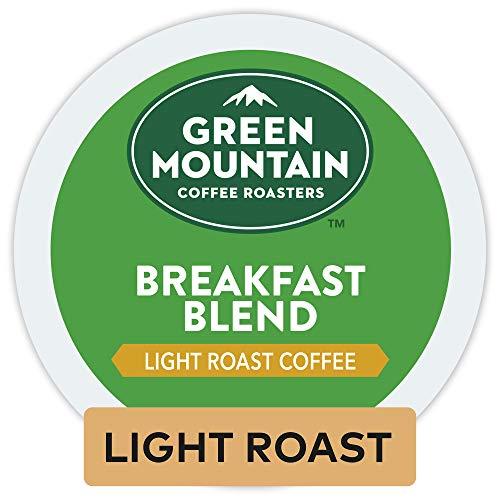 Green Mountain Coffee Roasters Breakfast Blend Single-Serve Keurig K-Cup Pods Light Roast Coffee 96 Count