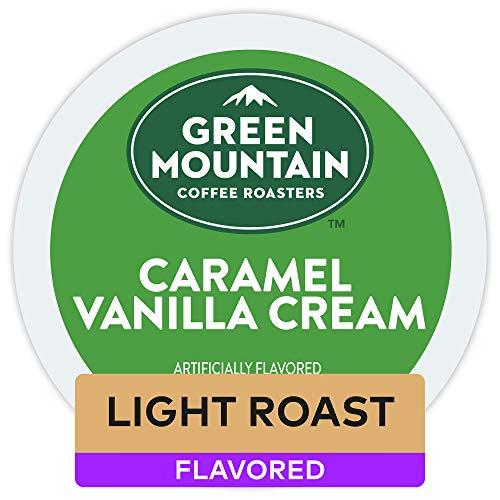 Green Mountain Coffee Roasters Caramel Vanilla Cream Keurig Single-Serve K-Cup Pods 96 Count