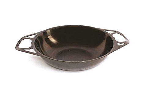 AUS-ION Wok 12 30cm Smooth Finish 100 Made in Sydney 2mm Australian Iron Professional Grade Cookware