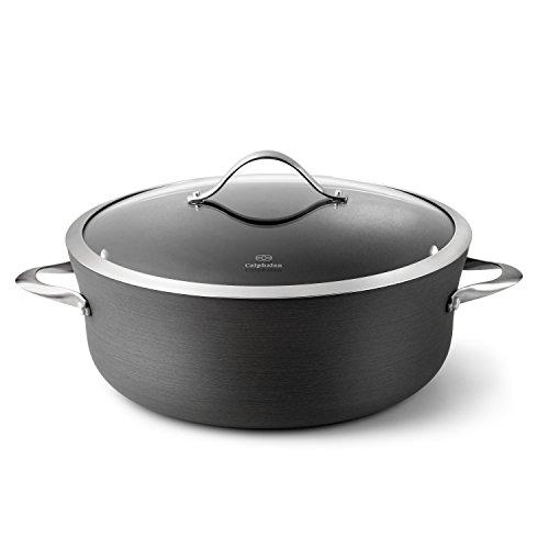 Calphalon Contemporary Hard-Anodized Aluminum Nonstick Cookware Dutch Oven 8 12-quart Black