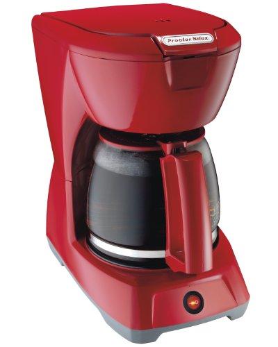 Proctor-Silex 12 Cup Coffeemaker Red 43603