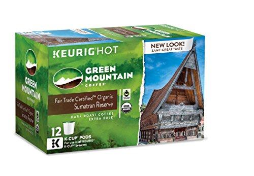 Green Mountain Coffee Sumatran Reserve Keurig K-Cups 72 Count