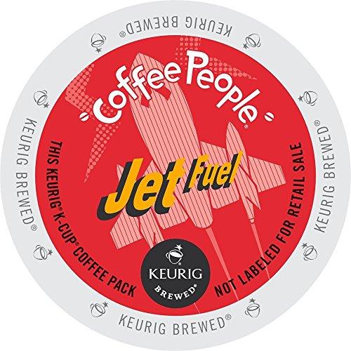 Keurig Coffee People Jet Fuel K-Cup Counts 50 Count