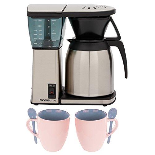 Bonavita BV1800SS 8 Cup Coffee Maker w Thermal Carafe  Accessory Kit