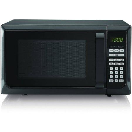 Hamilton Beech 9 cubic foot 900 watt microwave Black
