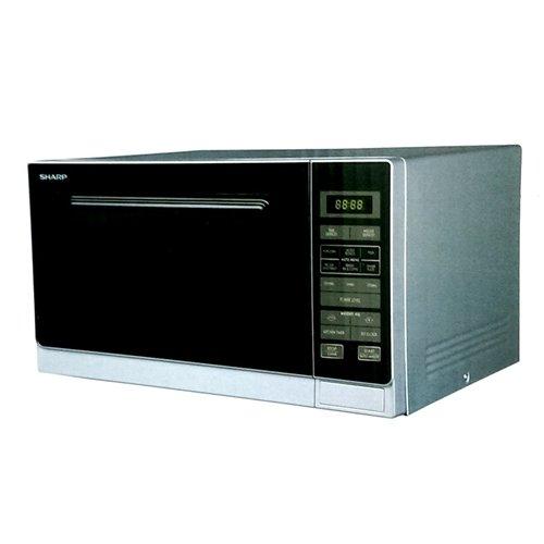 Sharp R-32A0SV 900-watt Microwave Oven 25-Liter