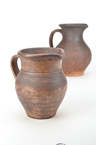 Ceramic Clay Handmade Pitcher Kitchen Tools and Equipment