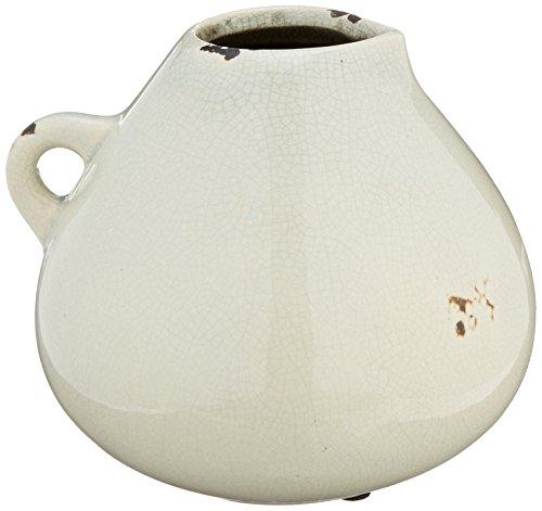 IMAX 13301 Beretta Ceramic Pitcher Medium White
