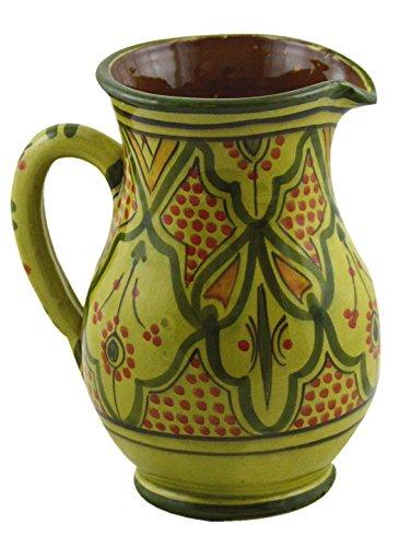 Moroccan Handmade Safi Fes Large Ceramic Pitcher