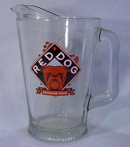 Large Red Dog Beer Pitcher Bar-ware