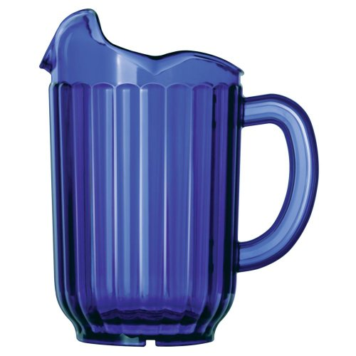 Traex 60 Oz Cobalt Blue 3 Lipped Tuffex Deluxe Pitcher