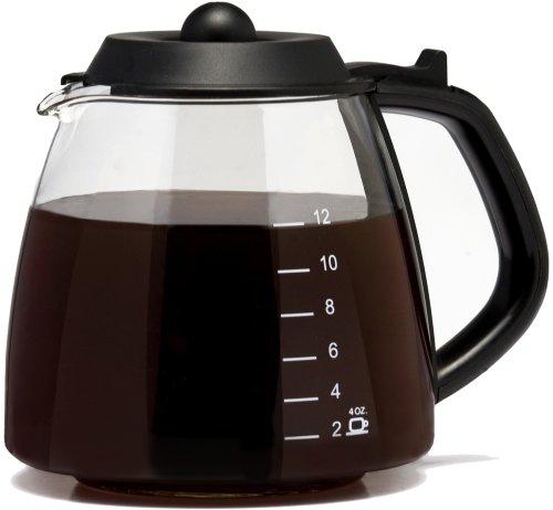 Medelco 12 Cup Millennium Style Carafe Black GL312