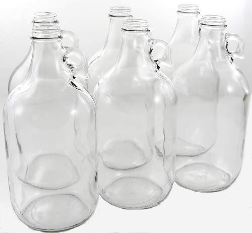 12 Gallon Growler Glass Jug Case of 6