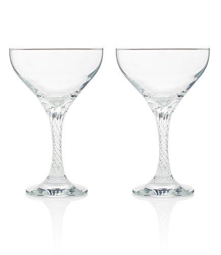 """vertigo"" Champagne And Cocktail Coupe (gift Box Set Of 2)"