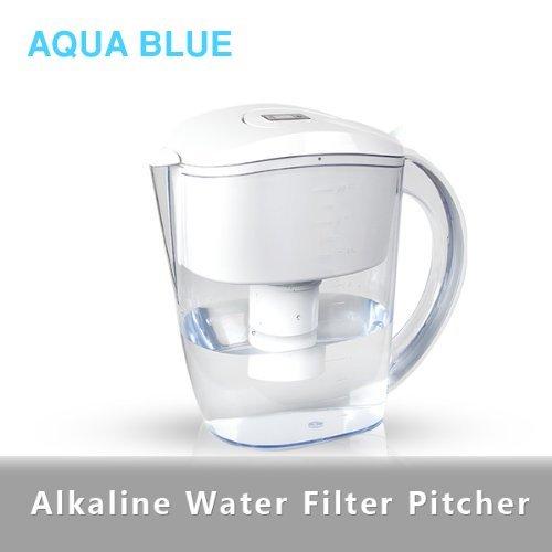 alkaline water filter pitcher 35 liter white
