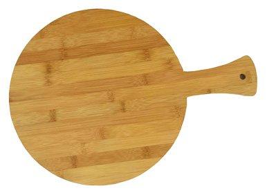 Round Bamboo Pizza Board 16