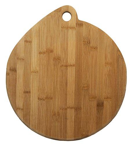 Totally Bamboo Artisan Pizza Board Strong and Durable 100 Flat Grain Bamboo