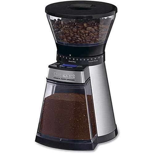 Cuisinart CBM-18 Programmable Conical Burr Urnex Grindz Coffee Grinder