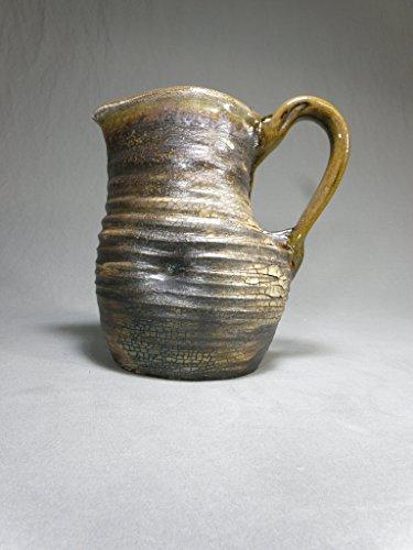 Rustic Soda Fired Stoneware Pitcher