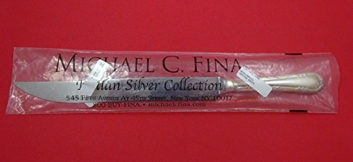 Neoclassico by Calegaro Italy Sterling Silver Roast Carving Knife 14 New