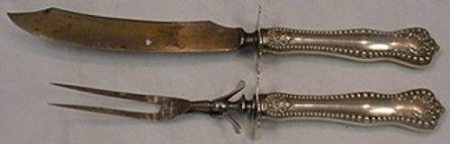 Twentieth Century by Mount Vernon Sterling Silver Roast Carving Set 2pc