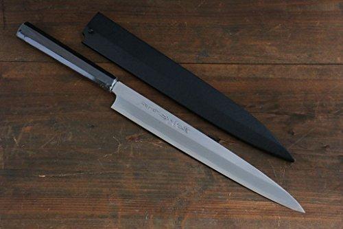 SAKAI TAKAYUKI BYAKKO WHITE TIGER WHITE STEEL NO1 YANAGIBA SLICER JAPANESE SUSHI CHEF KNIFE