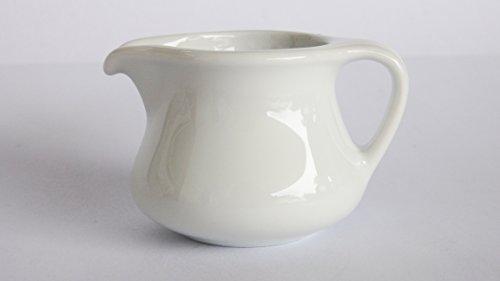 Amatahouse Elegant Mini Creamer Pitcher Royal Porcelain Classic White 14 oz 0217
