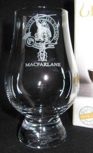 Clan Macfarlane Glencairn Single Malt Scotch Whisky Tasting Glass