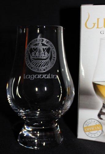 Lagavulin Islay Crest Glencairn Scotch Whisky Tasting Glass
