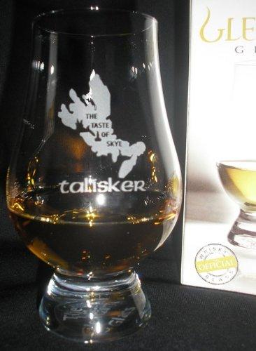 """Talisker """"the Taste Of Skye"""" Glencairn Single Malt Scotch Whisky Tasting Glass"""