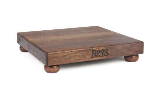 John Boos Cutting Board with Feet 12 by 12 by 15-Inch Walnut by John Boos