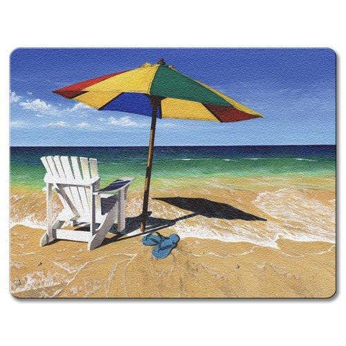 Beachy Keen - Small Glass Cutting Board