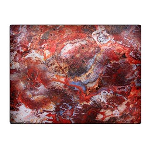 Agate Crazy Lace Red - Glass Cutting Board