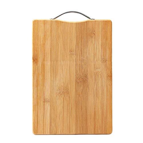 Durable Chopping Board Wood Cutting Board Bamboo Chopping Block Mat Thicken Anti-Slip Easy CleanOrange20X30Cm