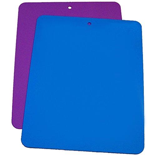 Linden Sweden Daloplast Bendy Blue and Purple Flexible Cutting Board Set of 2